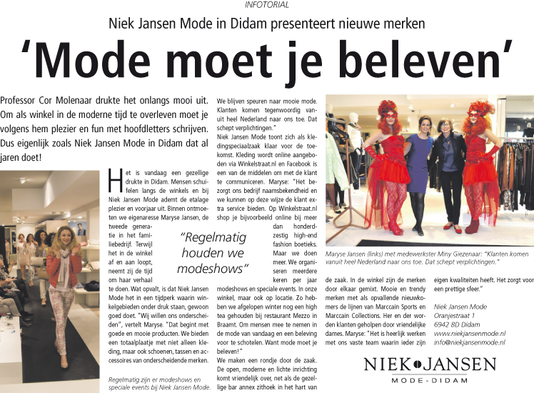Infotorial Niek Jansen.indd