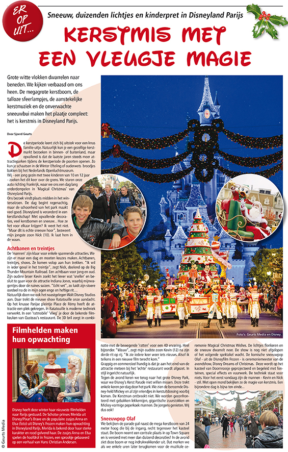O - Uit met kerst Disney CROP